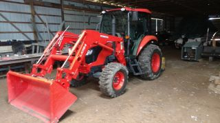 2016 Kubota Tractor M70/60hdc12 Cab,  Xm Radio,  Am/fm,  Ac/heat,  Bluetooth,  Extras photo