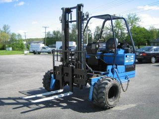 2005 Princeton Piggy Back Forklift Model Pb50 - 5000lbs :::::::::::::::::::::::: photo