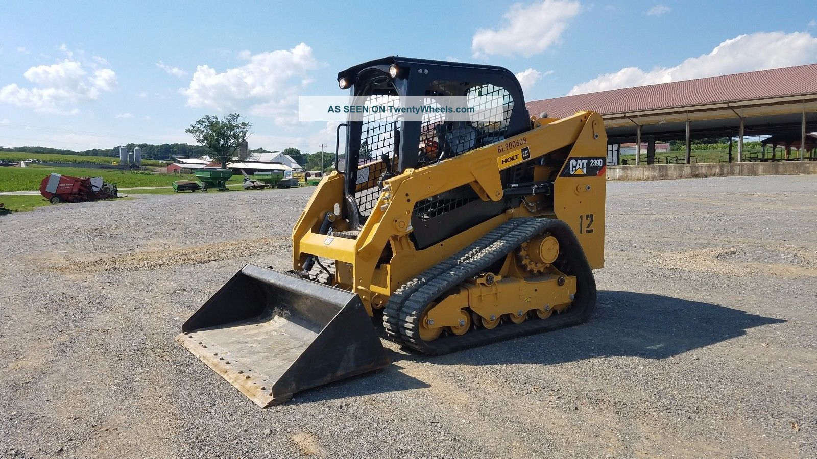 2015 Caterpillar 239d Compact Track Loader Cat Diesel Engine Orops 80 Skid Steer Loaders photo