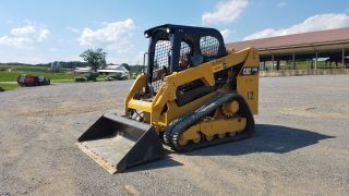 2015 Caterpillar 239d Compact Track Loader Cat Diesel Engine Orops 80 photo