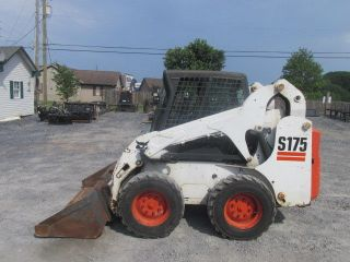 2006 Bobcat S175 Skid Steer Loader W/ Cab photo