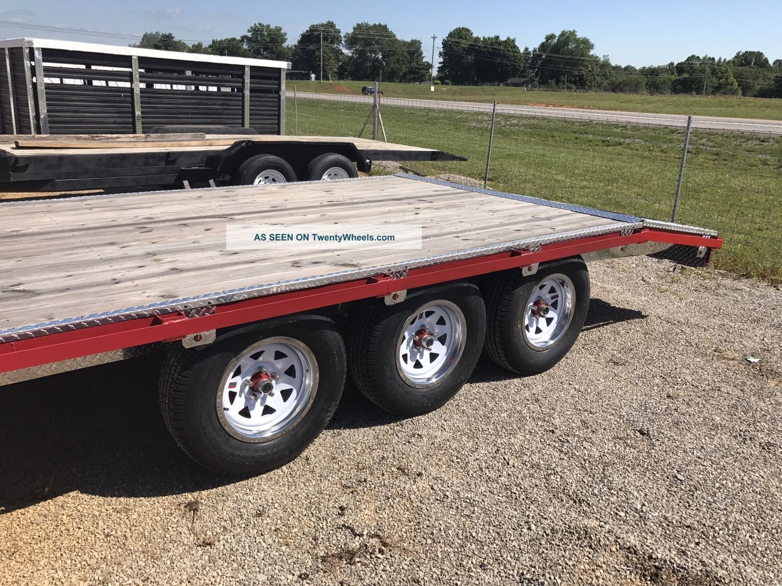 Trailer Axles Tractor Supply : Show trailer torsion triple axle equipment tractor car