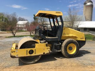 2011 Bomag Bw177 Dirt Roller 1600 Hours Video Financing Available photo