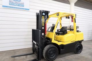 2008 Hyster H90ft,  9,  000 Solid Pneumatic Tire Forklift,  S/s, photo