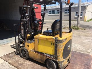 Cat Gc 25 5,  000 Lb Forklift photo