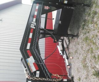 40 Ft Gooseneck Trailer photo