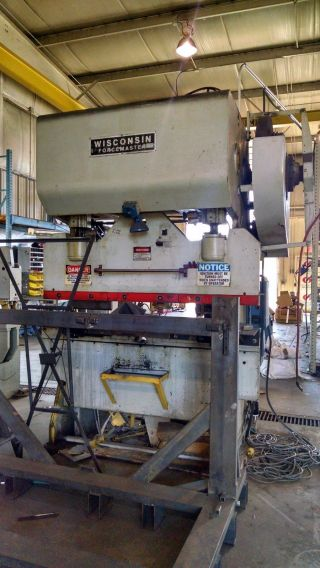 Wisconsin Hydraulic Press Brake photo