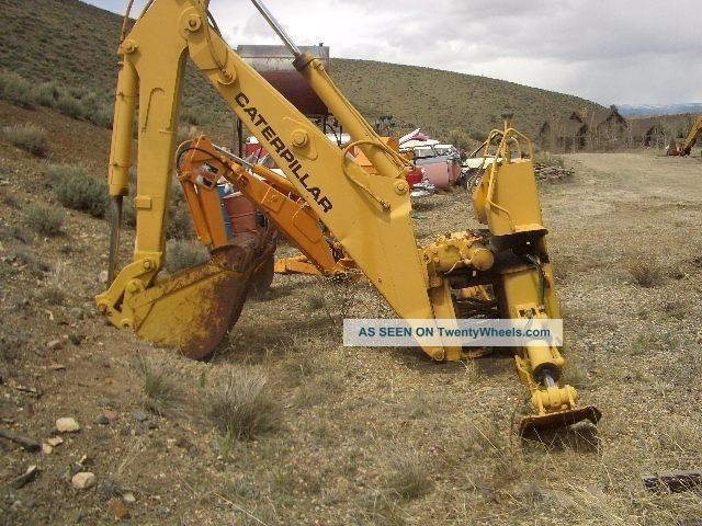 Caterpillar Backhoe Attachment For D4c Crawler