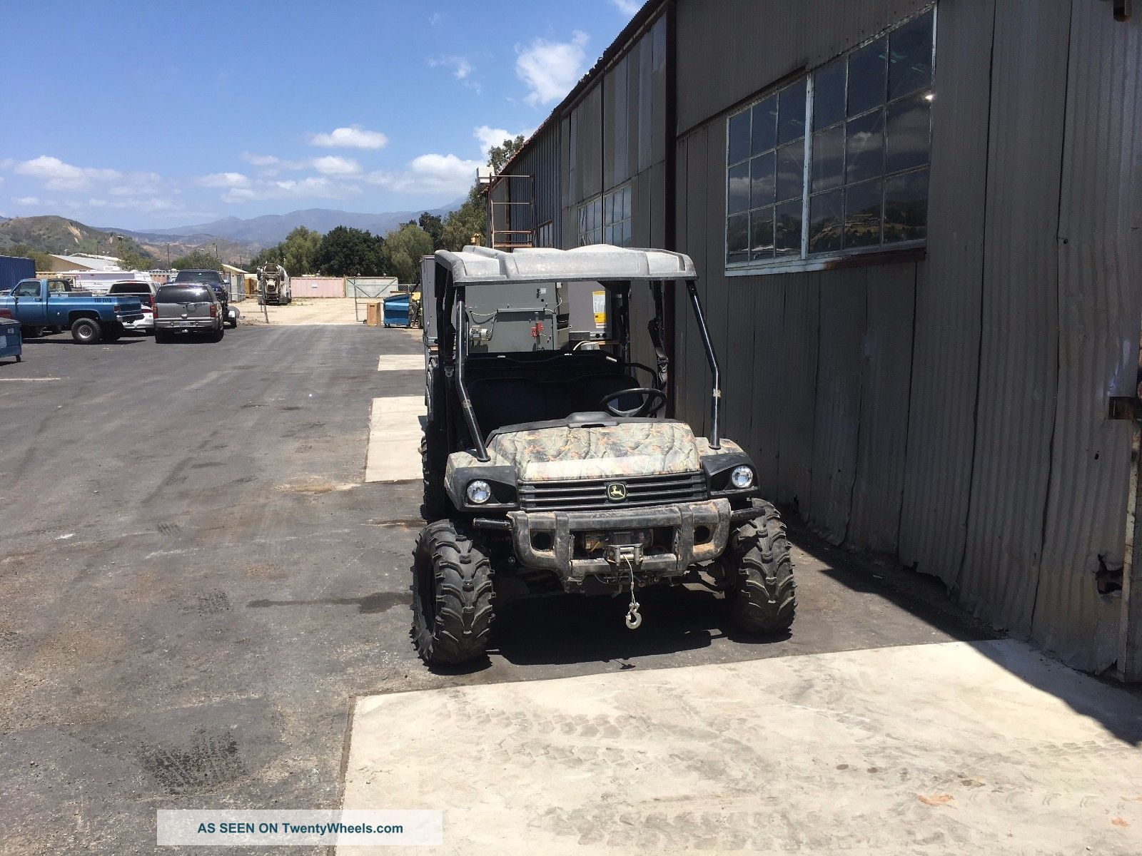 2013 John Deere 825i S4 Gator.  4 Seater.  4x4.  Power Steering.  Real Tree Camo Utility Vehicles photo