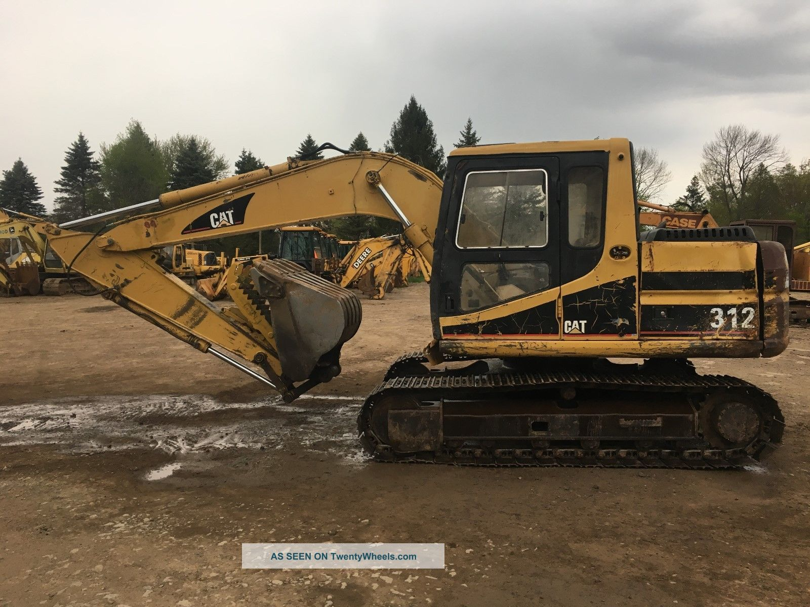 1995 Cat Caterpillar 312 Hydraulic Excavator Excavators photo