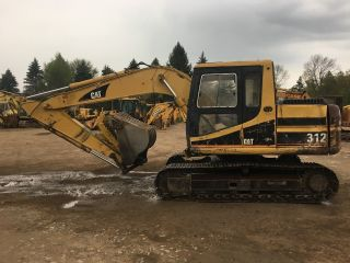 1995 Cat Caterpillar 312 Hydraulic Excavator photo