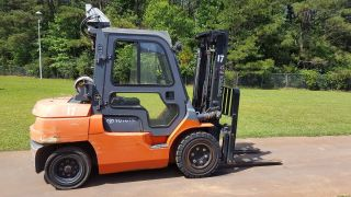 2010 Toyota 7fgu35 Forklift Truck photo