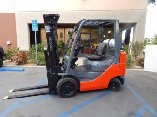 2011 Toyota 8fgcu25 5,  000lbs Lpg Pneumatic (scie Inc) photo