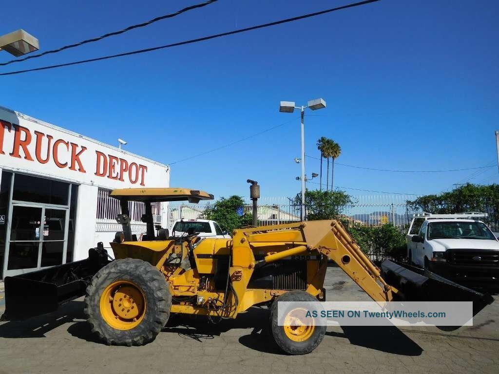 John Deere 2355 Farm Tractor Loader Ex City 2wd Gannon Box Tractors photo