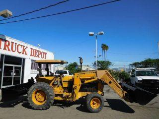 John Deere 2355 Farm Tractor Loader Ex City 2wd Gannon Box photo