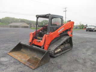 2012 Kubota Svl90 Tracked Skid Steer Loader photo