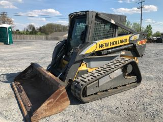 2009 Holland C185 Tracked Skid Steer Loader W/ Cab photo