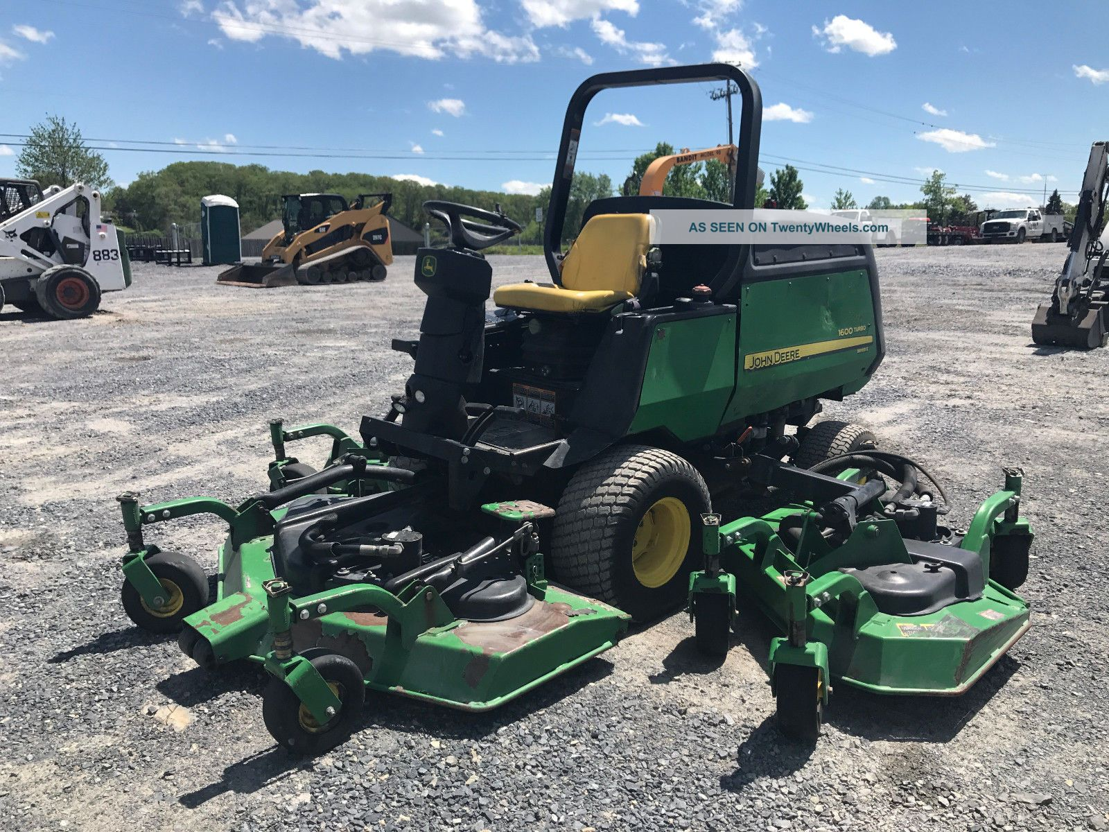 2008 John Deere 1600 Turbo Series 2 Wide Area Mower Tractors photo