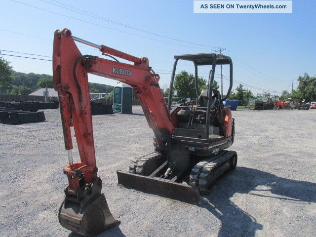 2006 Kubota Kx71 - 3 Mini Excavator Excavators photo
