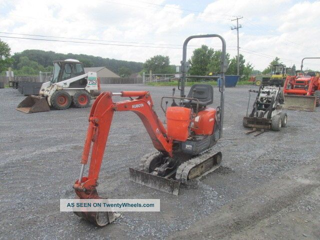 2009 Kubota Kx008 Mini Excavator Excavators photo