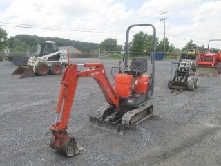 2009 Kubota Kx008 Mini Excavator photo