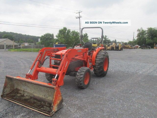 2006 Kubota L4330 4x4 Compact Tractor W/ Loader Tractors photo