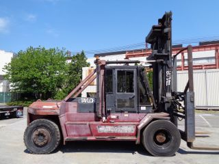 Taylor Thd360l 36,  000ln Forklift - Enclosed Cab - Side Shift - Fork Positioners photo