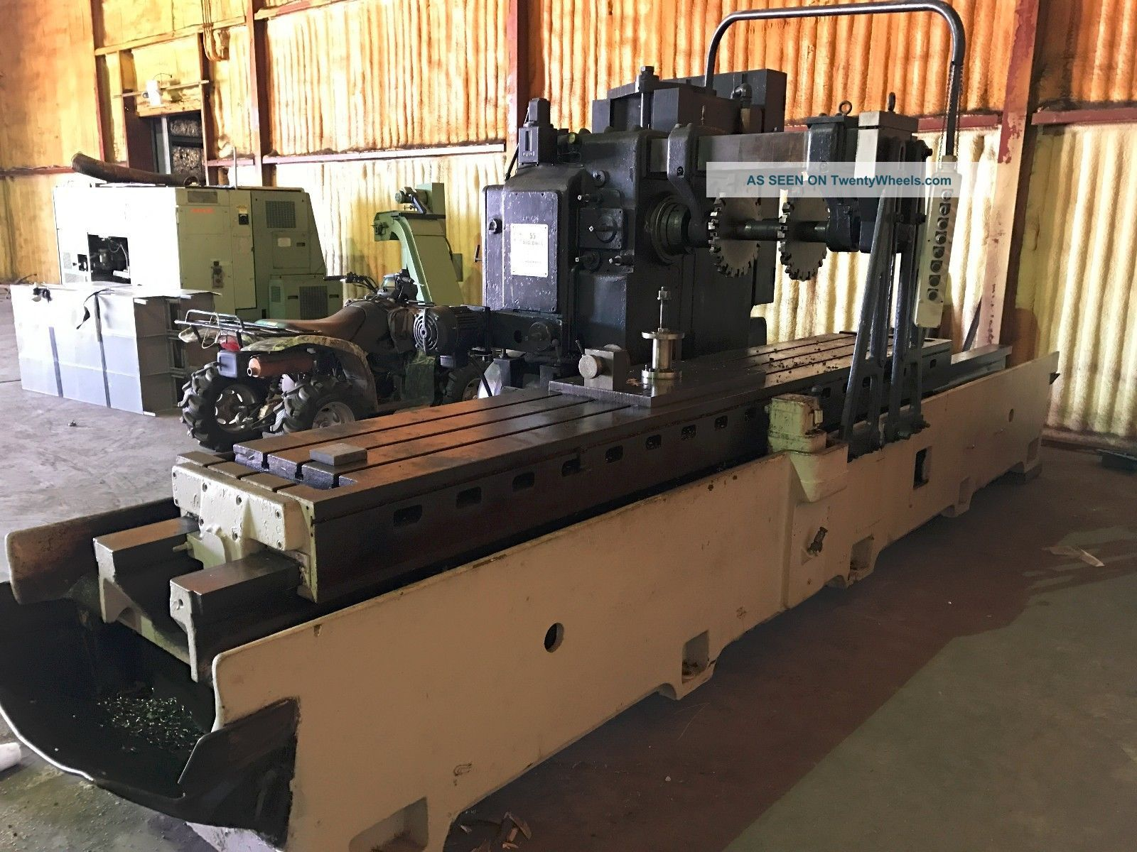 Sundstrand Model 55 Rigidmil Milling Machine Milling Machines photo