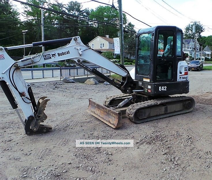 2014 Bobcat E42 Excavator Only 680 Hours Ready 2 Work In Ny We Ship Excavators photo