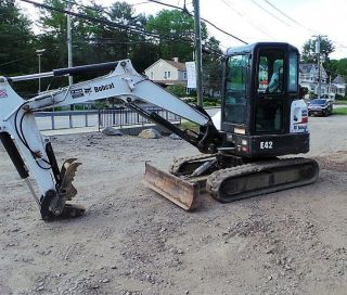 2014 Bobcat E42 Excavator Only 680 Hours Ready 2 Work In Ny We Ship photo