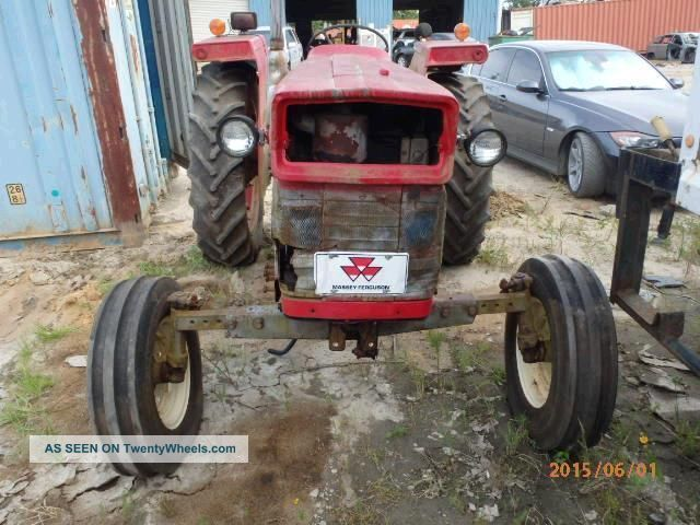 As - Is Tractor Massey Located In Savannah,  Ga.  Pickup/delivery Tractors photo