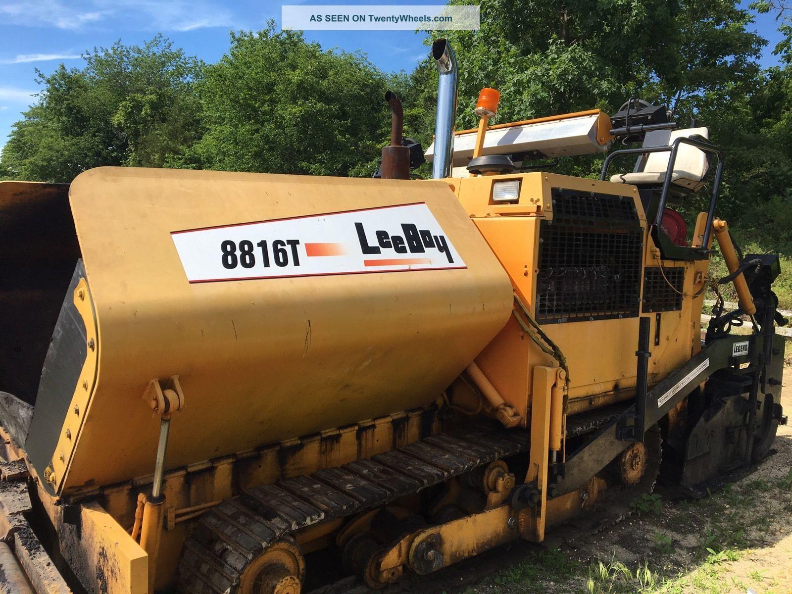 2006 Leeboy Paver 8816 Pavers - Asphalt & Concrete photo