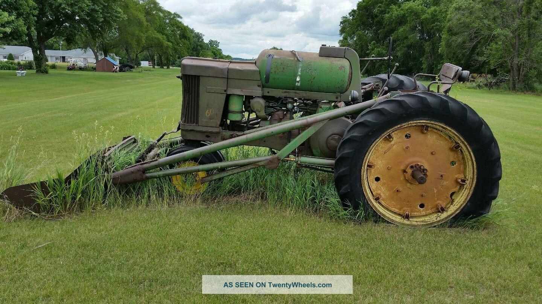 Antique John Deere Tractors Antique & Vintage Farm Equip photo
