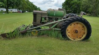 Antique John Deere Tractors photo