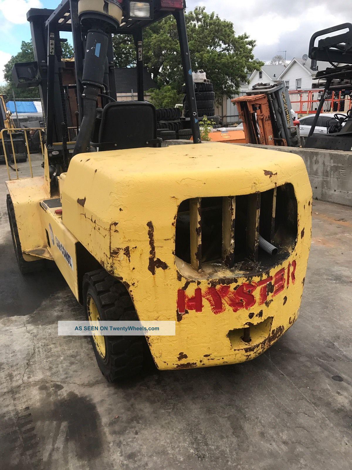 Hyster Forklift Forklifts photo