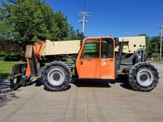 2008 Jlg G10 - 55a 10000lb Pneumatic Telehandler Diesel Telescopic Forklift 4x4x4 photo