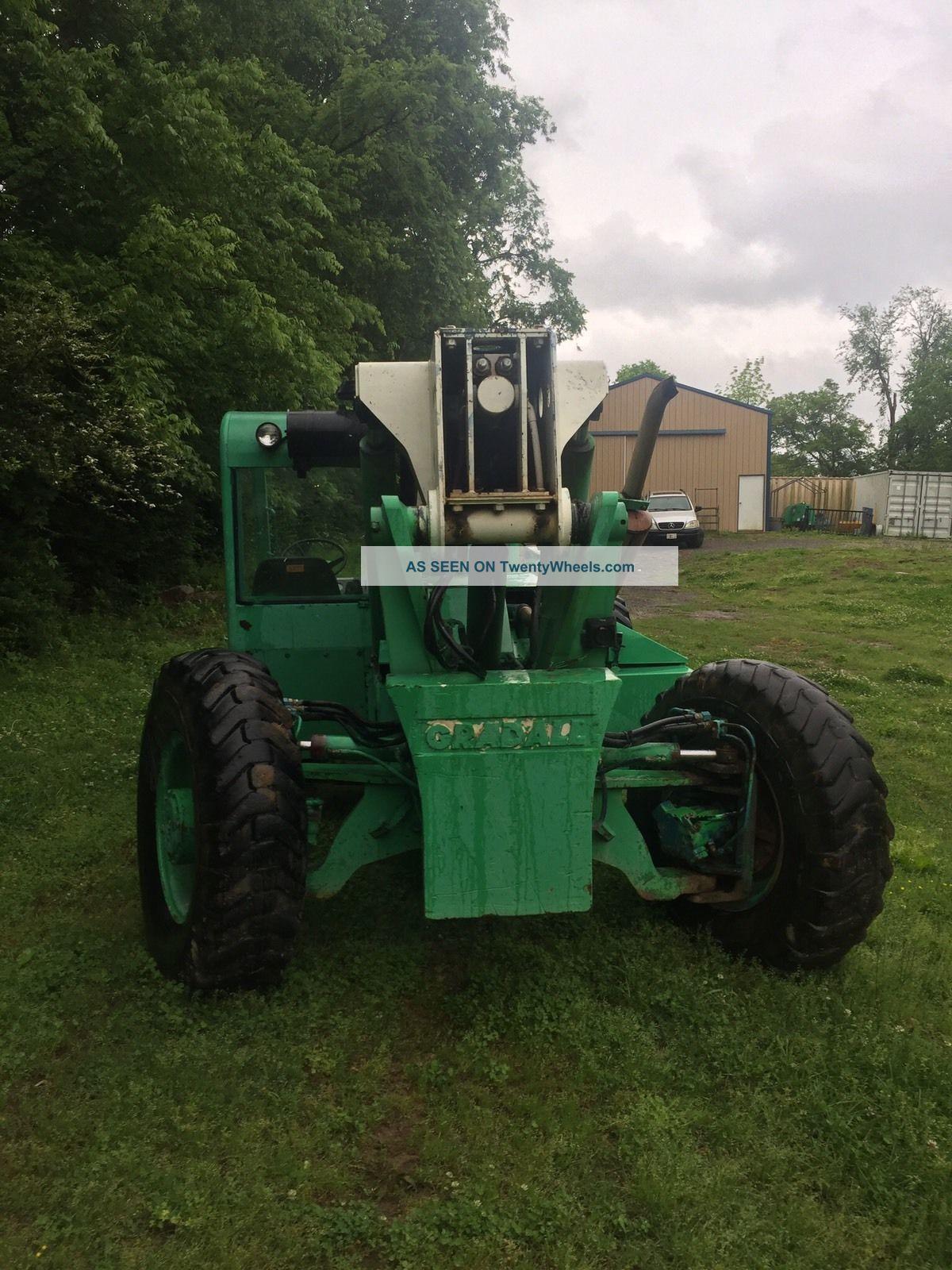 Gradall 534d - 9 Telehandler Forklifts photo