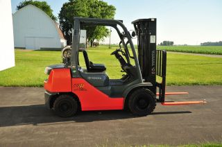 2008 Toyota 8fgu25 Forklift - Liftruck photo