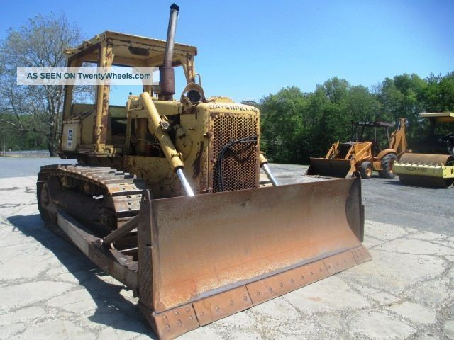 Caterpillar D5b Crawler Dozer,  Very,  Straight Blade W/tilt,  Excellent U/c Crawler Dozers & Loaders photo