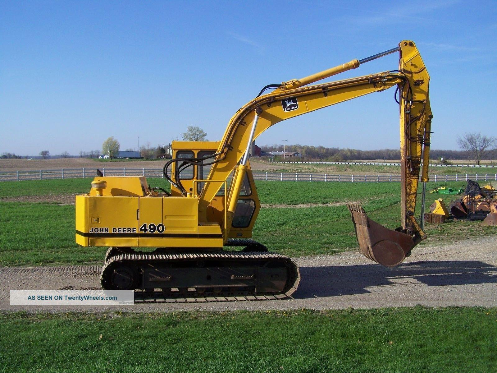 John Deere 490 Excavator Excavators photo