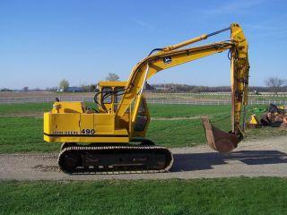 John Deere 490 Excavator photo