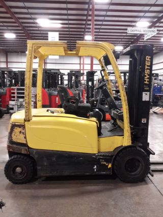 2010 Hyster J60xn,  6000lb,  87/126 2stage,  80v Electric Forklift,  13,  538 Hours photo