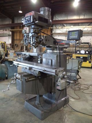 Seiki - Vs,  Model 3vh,  3 Hp,  Vertical Milling Machine W/ 50
