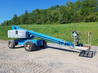 1999 Genie S60 Boom/man Lift Gasoline Engine Construction Machine Telescopic 4x4 photo