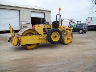 Hyster C330b Asphalt/stone Roller,  W/tow Pac,  Diesel,  Hydrostatic Drive 1100 Hrs photo