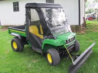 2007 John Deere Tx Turf Gator W/ Snow Blade & Soft Cab Only 378 Hrs.  Shape photo