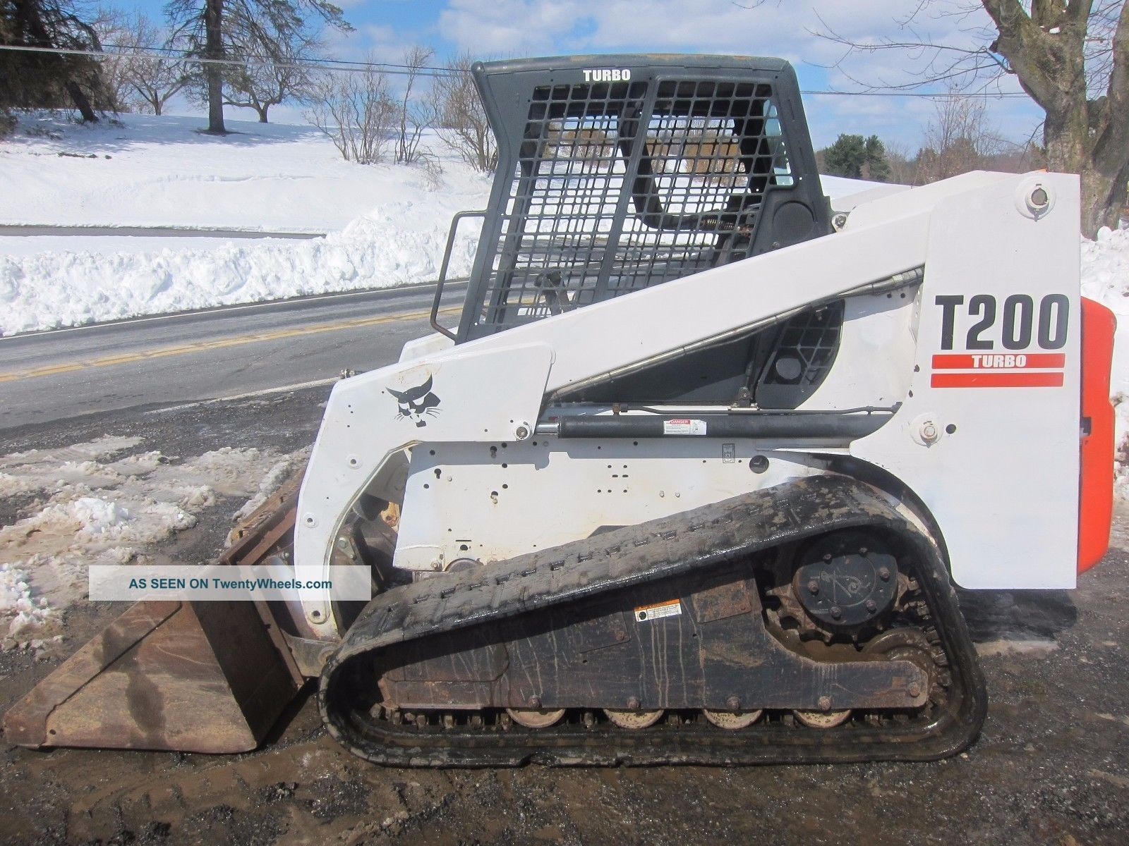 Bobcat T200 Compact Track Loader Skid Steer 2400hrs (tags 864 T180 T190 T300) Skid Steer Loaders photo