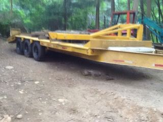 Heavy Equipment Trailer Gvw 21,  016 Lbs. photo