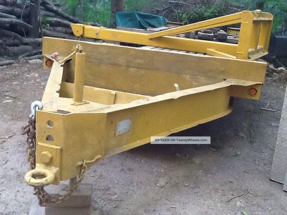 Heavy Equipment Trailer : Heavy equipment trailer gvw lbs
