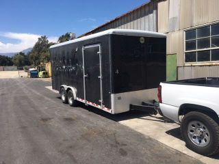 2014 Wells Cargo Ew2025 Enclosed Cargo Trailer 13200 Gvw photo